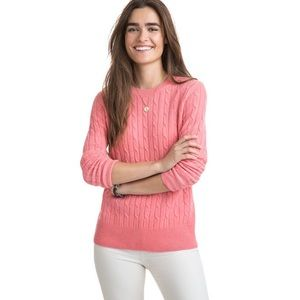 Vineyard vines cable sweater ❤️